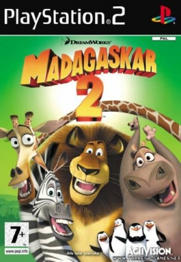 Madagascar 2: Escape 2 Africa / Мадагаскар-2: Побег в Африку (2008) PS2