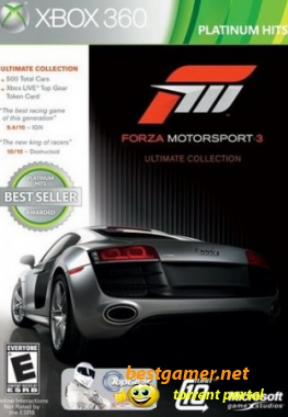 [XBOX360] Forza Motorsport 3 Ultimate Collection [PAL][RUS]