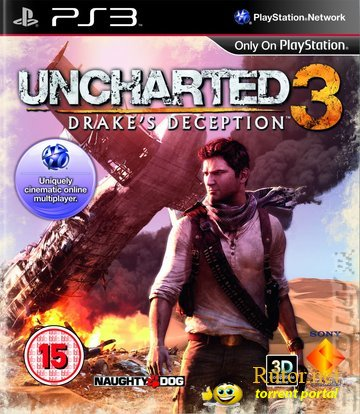 [PS3] Uncharted 3:Drake's Deception [RUS/MULTI-10] [eboot для 3.55]