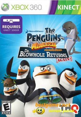 [Xbox 360] The Penguins of Madagascar: Dr. Blowhole Returns Again! [Region Free / Eng]