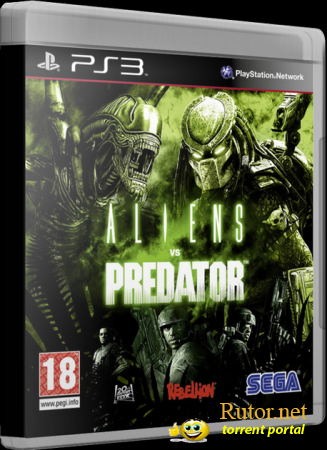 [PS3] Aliens vs Predator [EUR\RUS]