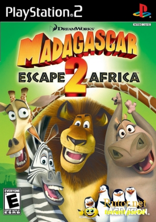 [PS2] Madagascar escape 2 africa / Мадагаскар 2: Побег в Африку [RUS]