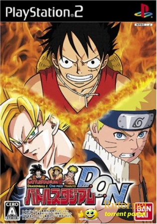 [PS2] Battle Stadium D.O.N /Dragon Ballz,One Piece,Naruto/ [JAP/NTSC]