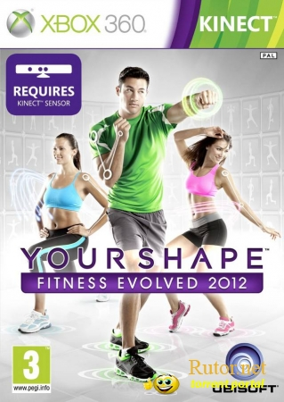 [XBOX360] Your Shape: Fitness Evolved 2012 [RegionFree/ENG/LT+2.0/Kinect]