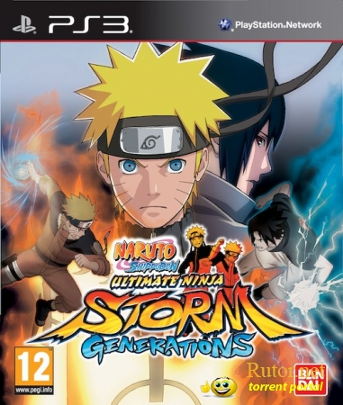 [PS3] Naruto Shippuden: Ultimate Ninja Storm Generations (2012) [FULL][ENG] (True Blue)