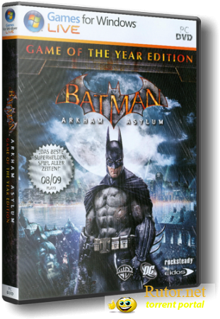Batman Arkham Asylum v 1.1 (RUS) [Lossless RePack] by Rockman