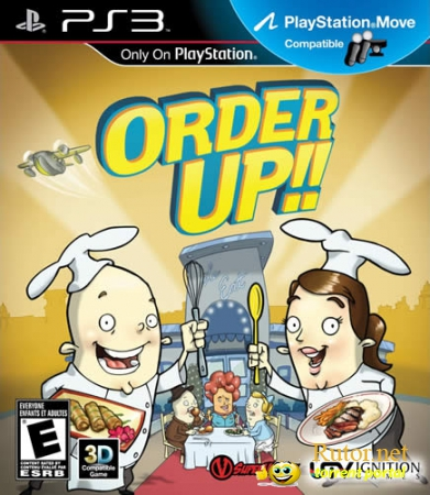 [PS3] Order Up!! (2012) [FULL][ENG][L] (True Blue)