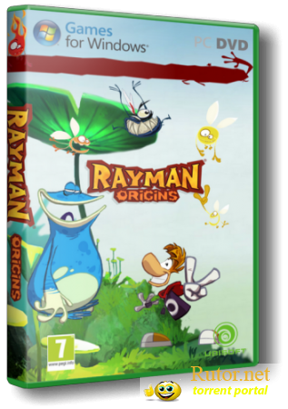 Rayman Origins (Ubisoft Entertainment) (Multi9/RUS) [Repack] от z10yded