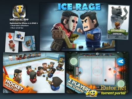 [iPad/ iPhone/ iPod Touch] Ice Rage v 2.0 (2011) Английский [ios]