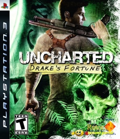 Uncharted: Drake's Fortune (2007) [FULL][RUS]