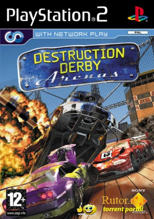 [PS2] Destruction Derby Arenas [RUSENG|PAL]