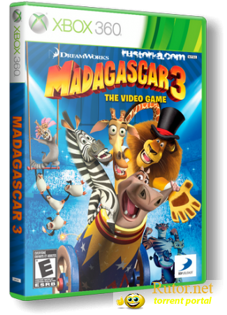 [XBOX360] Madagascar 3: The Video Game [Region Free] [RUS / ENG] (LT 1.9 )