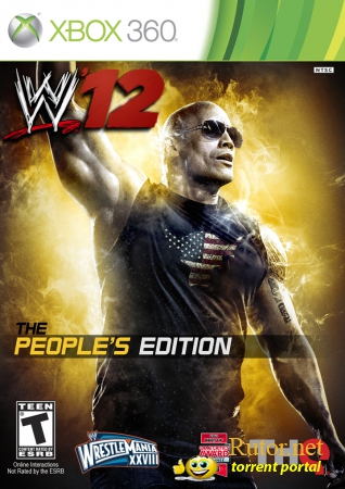 [XBOX360]WWE 12 People's Edition [PAL/RUS]
