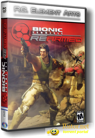 Bionic Commando Rearmed [1.01] (2008) PC | RePack от R.G. Element Arts