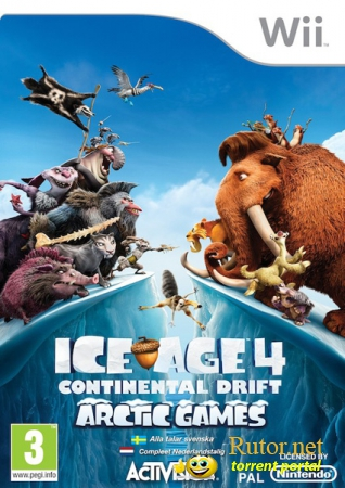 [Wii] Ice Age 4: Continental Drift - Arctic Games [PAL/MULTI7/2012]