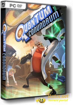 Quantum Conundrum (Square Enix) [RUS|ENG] [RePack] by X-pack