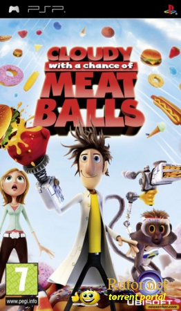 [PSP] Cloudy With a Chance of Meatballs (2009) RUS [CSO]