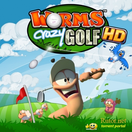 [HD] Worms Crazy Golf HD [v1.06, Спорт, Аркада, iOS 3.2, ENG]