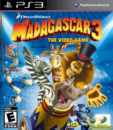 [PS3] Madagascar 3 (2012) [FULL][RUS][RUSSOUND] (3.55 kmeaw)