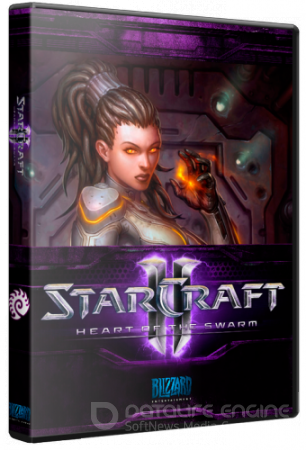 StarCraft II Wings of Liberty + Heart of the Swarm [v.2.0.5.25092] [Preload] (2013/PC/Rus)