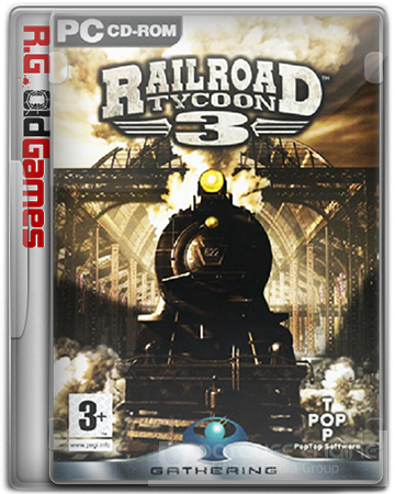 Railroad Tycoon 3: Coast to Coast [v. 1.05] (2004) PC | RePack от R.G.OldGames