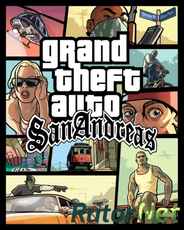 Grand Theft Auto San Andreas [Take 2 Games] [MultiPlayer Only] [Rip]
