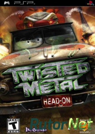 Twisted Metal Head On (2005) PSP