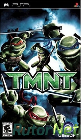 [PSP] Teenage Mutant Ninja Turtles [2007, Adventure]
