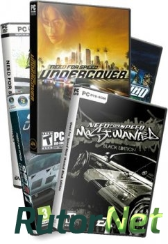 [PSP]NEED FOR SPEED: АНТОЛОГИЯ (2005-2008) PSP