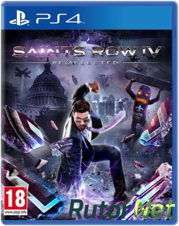(PS4)Saints Row IV Re-Elected [EUR/RUS]