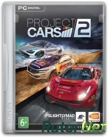 Project CARS 2: Deluxe Edition [v 7.0.0.0.1095 + DLC's] (2017) PC | RePack от =nemos=