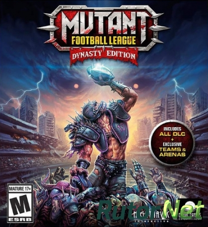 Mutant Football League: Dynasty Edition (Digital Dreams Entertainment LLC) (ENG) [Repack]