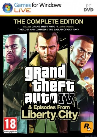 GTA 4 / Grand Theft Auto IV - Complete Edition [v 1.2.0.43 + Old Radio + ModPack] (2010) PC | RePack от FitGirl
