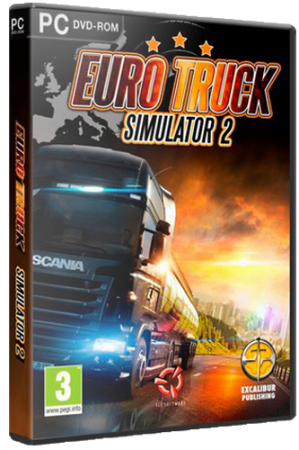 Euro Truck Simulator 2 [v 1.40.1.7s + DLC] (2013) PC | Steam-Rip от =nemos=